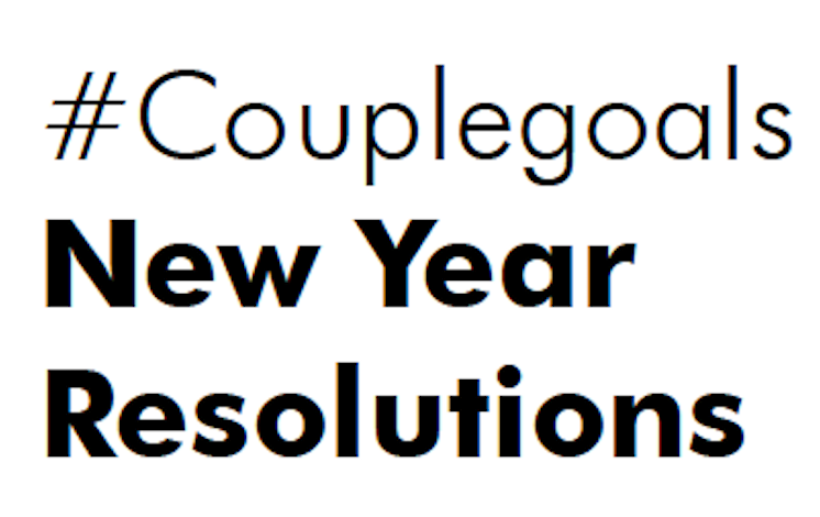 #Couplegoals New Year Resolutions 2020